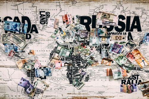 World Paper Money -  Sandmulas - Fotografie