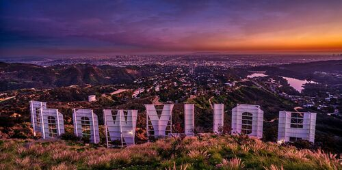 HOLLYWOOD SIGN - SERGE RAMELLI - Kunstfoto