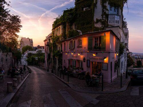 Montmartre rose - SERGE RAMELLI - Kunstfoto