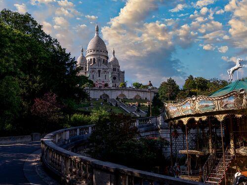 Montmartre view - SERGE RAMELLI - Kunstfoto