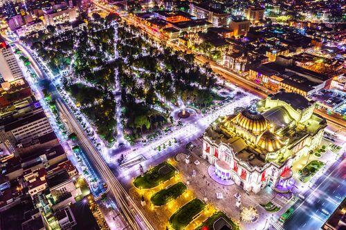 Palace vue du ciel - SERGE RAMELLI - Photograph