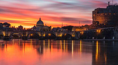 ROME BY NIGHT - SERGE RAMELLI - Photograph