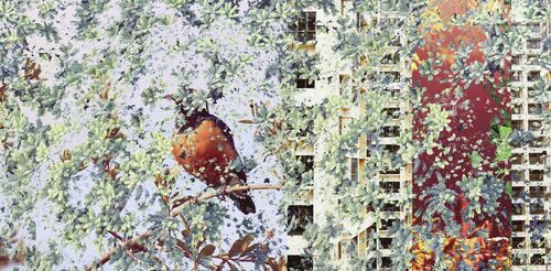 Night with Bird - SHAN KUN WU - Kunstfoto