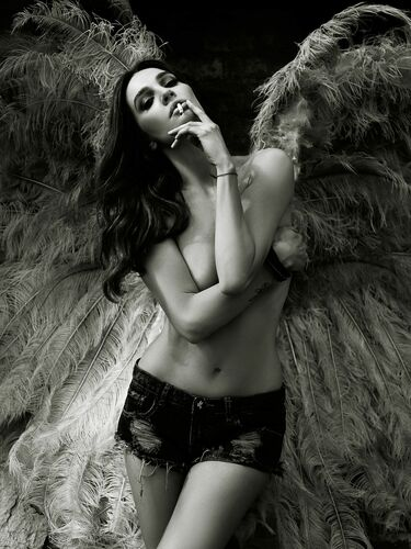 DARK ANGEL - SIME ESKINJA - Photograph