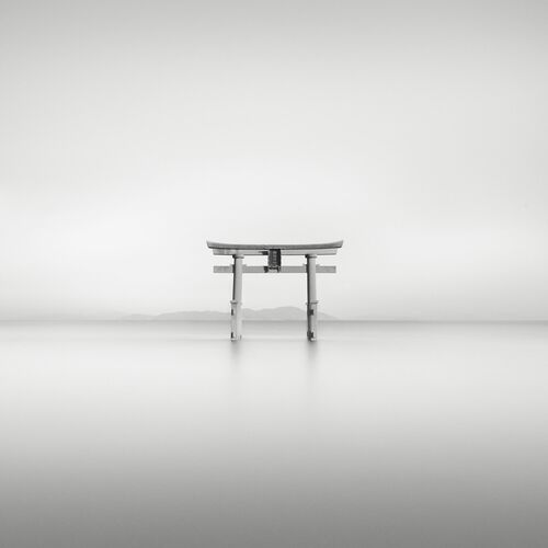 Shirahige Shrine Torii - STEFANO ORAZZINI - Photograph