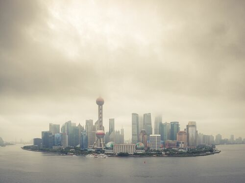 CLOUDA OVER PUDONG - THIBAUD POIRIER - Photograph