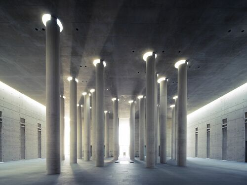 HALL OF COLUMNS - THIBAUD POIRIER - Photograph