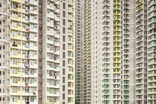 RESIDENSITY YELLOW GREEN - THIBAUD POIRIER - Photograph