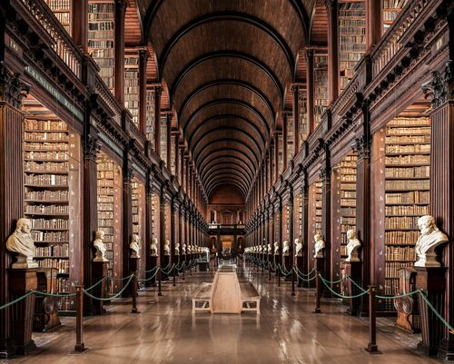 TRINITY COLLEGE LIBRARY 2 - THIBAUD POIRIER - Fotografie
