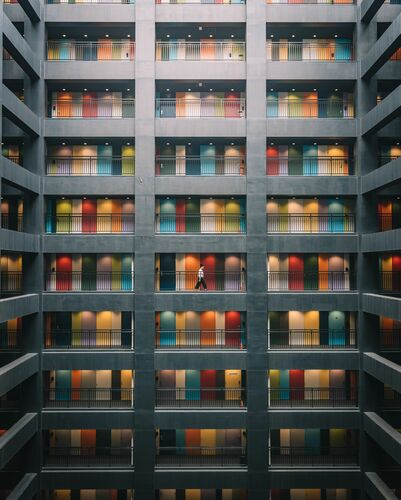 RAINBOW BUILDING - TRISTAN ZHOU - Photograph