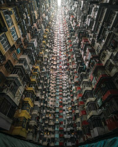 THE MONSTER BUILDING MULTIPLIED - TRISTAN ZHOU - Photograph