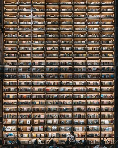 THE WALL OF BOOKS - TRISTAN ZHOU - Photograph
