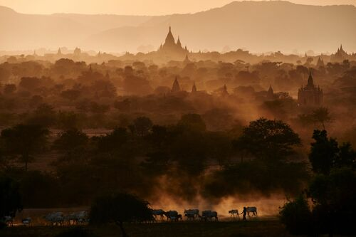 EVENING IN BAGAN