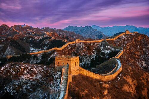 The Great Wall - TUUL ET BRUNO MORANDI - Photograph