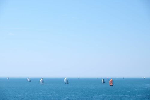 ALL SAILS OUT 2 - VINCENT DUPONT BLACKSHAW - Photographie