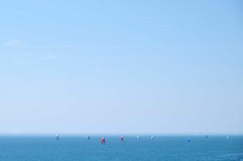 ALL SAILS OUT 4 - VINCENT DUPONT BLACKSHAW - Photographie