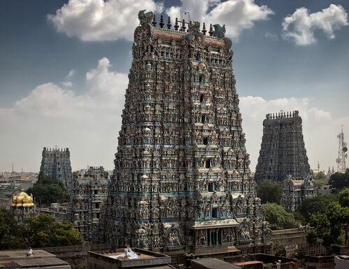 Madurai - Sri Minakshi Sundareshwara Tempel - WOLFGANG WEINHARDT - Fotografie