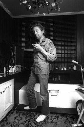 Le fumeur de gitanes - XAVIER MARTIN - Photograph