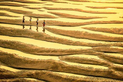 Patterns of Irrawaddy - Zay Yar Lin - Photographie