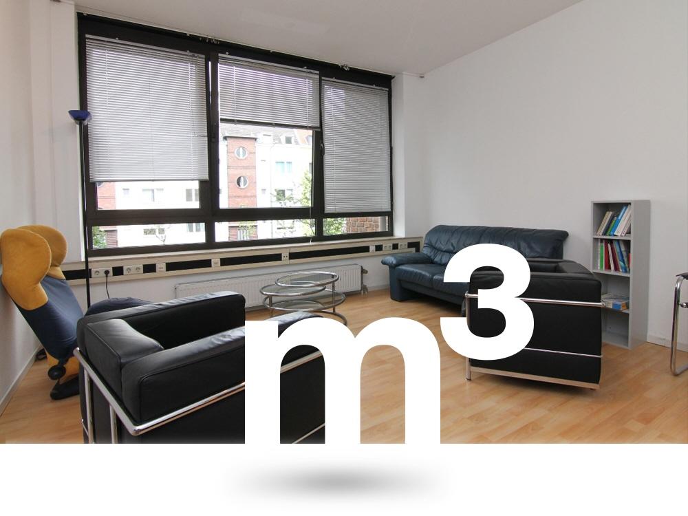 Büro-/ Praxisfläche mit 93 m² in Köln-Sülz zu vermieten!