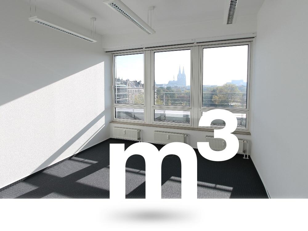 Büros mit Weitblick über den Hansapark zum Dom zu vermieten