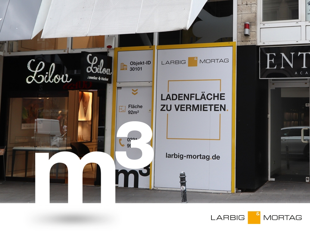 Laden in Köln Innenstadt zum mieten 30101 | Larbig & Mortag