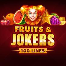 Fruits & Jokers 100 Lines