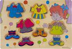 Ahşap Giydirme Bultak Eğitici Zeka Geliştiren Çocuk Oyuncak