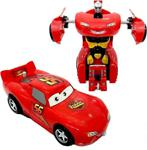 Akçi̇çek Oyuncak Şimşek Mcqueen Tek Tuşla Robota Dönüşebilen Araba