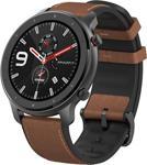 Amazfit Gtr Amoled Retina Ekran - 5 Atm Suya Dayanıklı Bluetooth Akıllı Saat (Siyah Alüminyum Kasa)