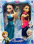 Anna ve Elsa Elsa ve Anna Frozen Karlar Ülkesi Bebek