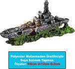 Ans Mini Akvaryum Dekoru Dkr10 Savaş Gemisi