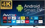 Awox K5500RST 4K Ultra HD 55'' 140 Ekran Uydu Alıcılı Smart LED Televizyon