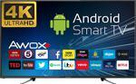 "Awox U5100Str 4K Ultra Hd 50"" 127 Ekran Uydu Alıcılı Smart Led Televizyon"