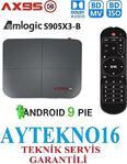 Ax95 Tv Box Akıllı Tv Kutusu Android 9.0 Medya Oynatıcı Amlogic S905X3-B 4 Gb/ 64Gb