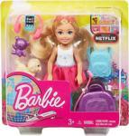 Barbie Aksesuarlı Chelsea Bebek Seyahatte