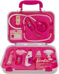 Barbie Çantalı Işıklı Doktor Seti 9 Parça Barbie Doktor
