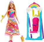 Barbie Dreamtopia Gökkuşağı Prensesi ve Salıncağı