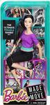 Barbie Siyah Taytlı Sonsuz Hareket Bebeği