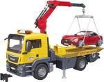 Bruder Man Tgs Araba Çekici ve Roadster Araba - 03750