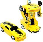 Can İthalat Sports Car Pilli Robota Dönüşen Araba