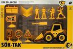 Canem Oyuncak Sök Tak İş Makineleri Seti Sarı