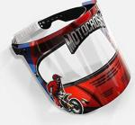 Çocuklar İçi̇n Yüz Ve Ağiz Koruyucu Si̇perli̇k - Motocross Desenli̇
