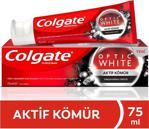 Colgate Optik Beyaz Aktif Kömür 75 ml Diş Macunu