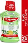 Colgate Plax Çay Ve Limon 500 Ml 2 Adet Gargara