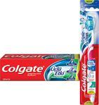 Colgate Üçlü Etki 150 ml + Orta Diş Fırçası Diş Macunu Seti