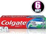 Colgate Üçlü Etki 50 ml x6 Adet Diş Macunu