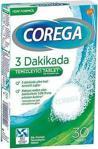 Corega 3 Dakikada Diş Protezi Temizleyici 30 Tablet