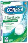 Corega 3 Dakikada Temizleyici 30 Tablet 3'lü Paket