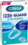 Corega Proguard And Retainer 30 Adet Temizleyici Tablet